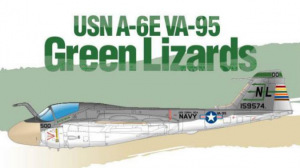 USN A-6E VA-95 Green Lizards