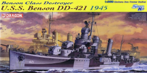 USS BENSON DD-421 1945 DESTROYER
