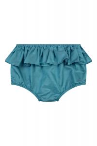 Pantaloncino blu a pannolino