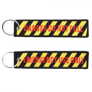 Portachiavi Danger Do Not Pull