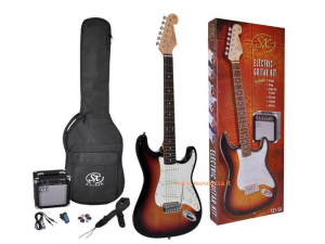 SX GUITAR KIT SE1SK Completo di amplificatore