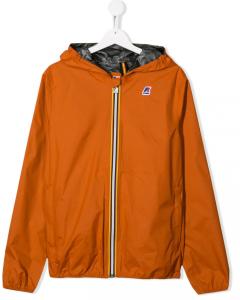 Giacca K-WAY Reversibile arancione