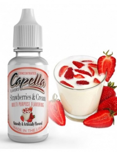 Strawberries & Cream Aroma Capella