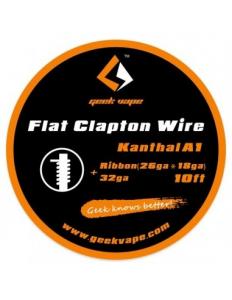 GEEKVAPE KANTHAL A1 FLAT CLAPTON WIRE RIBBON 26GAx18GA+32ga