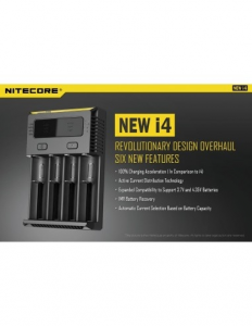 Intellicharger New i4 - Nitecore