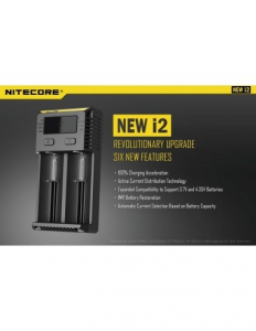 Intellicharger New i2 - Nitecore