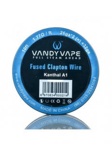 Fused Clapton Wire 26ga+32ga 3mt - Vandy Vape