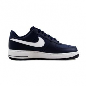SNEAKERS NIKE AIR FORCE 1 MIDNIGHT NAVY/WHITE 488298-436