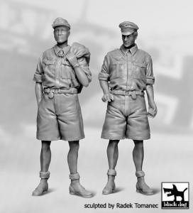 German Luftwaffe Pilots Africa 1940-1945 set