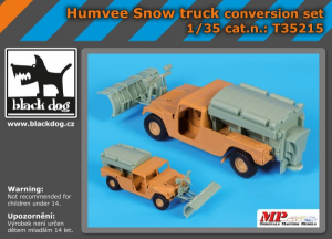 Humvee Snow truck - conversion set (ITALERI)