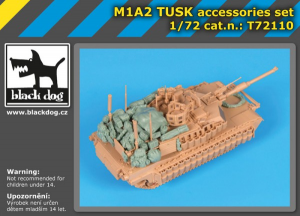 M1A2 TUSK accessories set (TIGER MODEL)