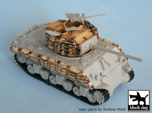 M4A3 SANDBAGS