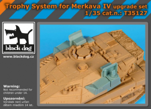 Trophy system for Merkava IV