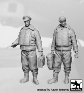 USAAF Bomber Aircraft Commander+Navigator