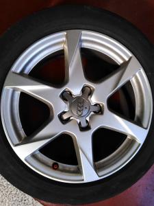 Cerchio in lega Usato Dm 17 Audi A4