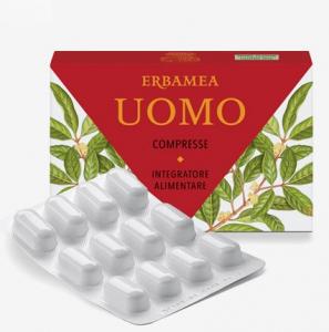 ERBAMEA UOMO 24 COMPRESSE - effetto viagra naturale - prodotto di erboristeria per erezioni