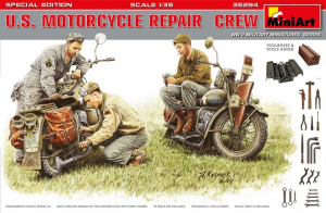 U.S. MOTORCYCLE REPAIR CREW. SPECIAL EDITION