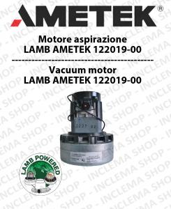 MOTEUR ASPIRATION 122019-00 AMETEK pour autolaveuses et aspirateur