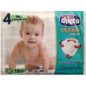 Chicco Dryfit Advanced Pannolini Taglia 4 8-18kg 19 Unità