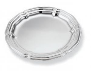 Sottobicchiere placcato argento stile 700 cm.diam.11