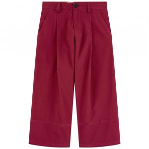 Pantalone bordeaux ampio
