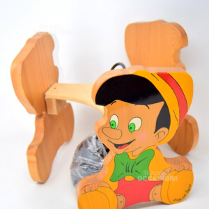 Lampadario Legno Pinocchio L'arte Del Legno