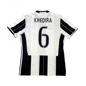 2016-17 Juventus Maglia Home #6 Khedira M (Top)