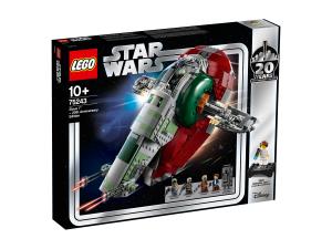 LEGO STAR WARS SLAVE I EDIZIONE 20° ANNIVERSARIO 75243
