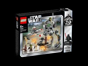 LEGO STAR WARS  CLONE SCOUT WALKER EDIZIONE 20° ANNIVERSARIO 75261