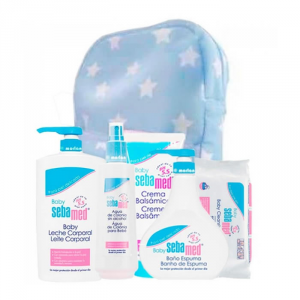 Sebamed Baby Blue Foam Bath Gel 500ml Set 6 Parti