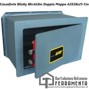 Cassaforte Blinky Bkc42dm Doppia Mappa 26X18X15 Cm