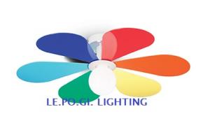 PLAFONIERA CAMERETTA FLOWER PL1 D50 IDEAL LUX