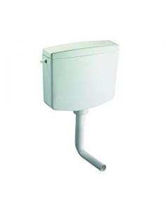 Cassetta scarico wc a zaino esterna modello  Ivory Oli 1 tasto