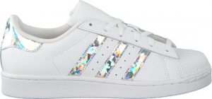 SNEAKERS ADIDAS SUPERSTAR J BIANCO/FOIL/MULTICOLOR F33889