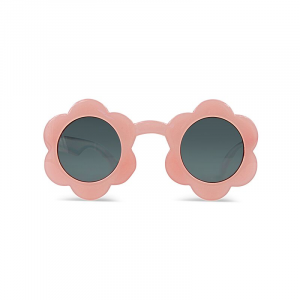 Occhiali da sole rosa a forma di fiore