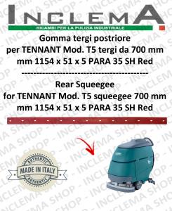 T5 (saug von 700 mm) Hinten sauglippen für scheuersaugmaschinen TENNANT