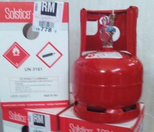 Bombola gas refrigerante HFO 1234 yf  KG 5