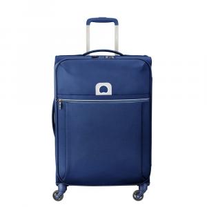 Delsey - Brochant - Valigia trolley medio 4 ruote morbido 67 cm blu cod. 2255810