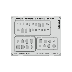 SET TEMPLATE ACCESS STEEL