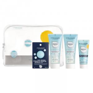 L'Occitane Aqua Réotier Water Gel Cleanser 40ml Set 4 Pieces 2019