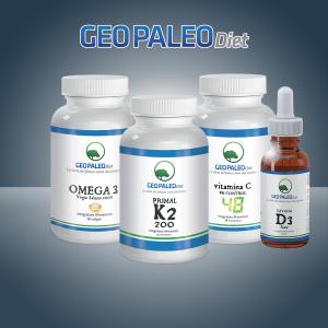 SUPER COMBO: Primal K2 + Savana D3 + Omega3 + Vitamina C Ph Control 48