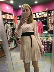 Mini abito Plissè 6 colori