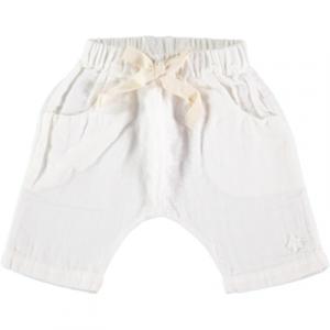 Pantaloncino bianco con laccio
