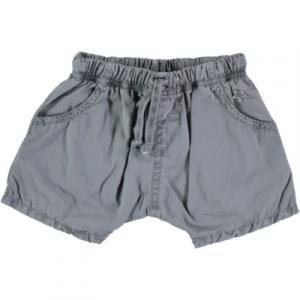 Pantaloncino grigio con laccio