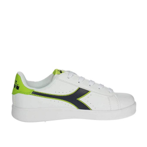 SNEAKERS DIADORA GAME P GS WHITE/LIME PUNCH 101.173323 01 70317