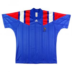 1992-94 Francia Maglia Home XL
