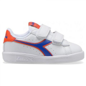 SNEAKERS DIADORA GAME P TD BAMBINO ORANGE/BLUE 60050