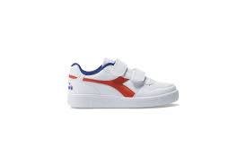 SNEAKERS DIADORA PLAYGROUND PS BIMBO ORANGE/WHITE/BLUE 45019