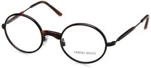 Giorgio Armani - Occhiale da Vista in Metallo Unisex, Marrone (Avana) 0AR5069J