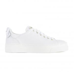 Sneaker bianca con fiocco Nero Giardini